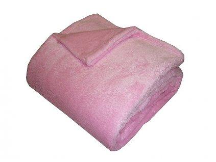 Super soft deka Dadka růžová 150x200 cm