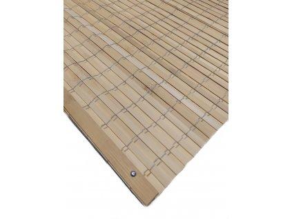 bambusová roleta přírodní