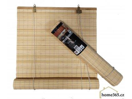 Bambusová roleta 80x200 PŘÍRODNÍ