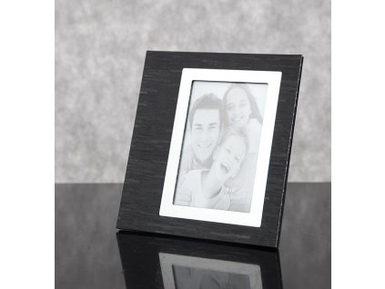 Fotorámeček ALAN 2/4 Černý - foto 10x15 cm