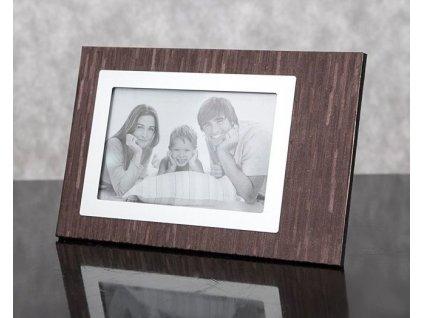 Fotorámeček ALAN 3/2 Hnědý - foto 13x18 cm
