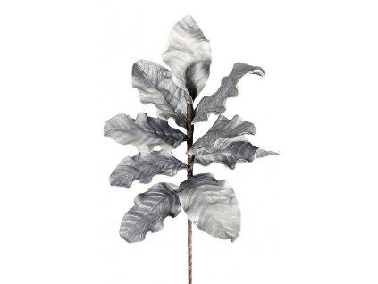Dekorační květina FLORE 186 Stříbrná 100cm