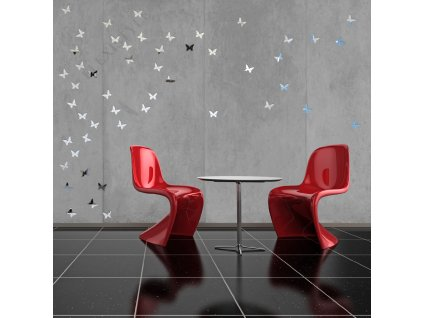 Dekorace na zeď - motýl zrcadlový