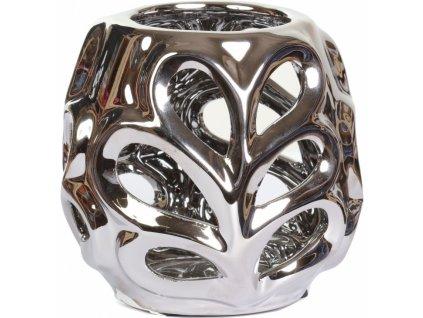 Stříbrný svícen ZOLA11cm