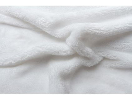 Svitap Prostěradlo mikroflanel bílé 180x200 cm