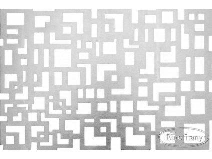 Stříbrné prostírání KAMISTO obdélník 30x45cm