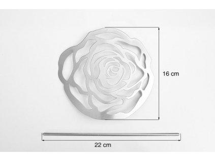 Dekorační spona na závěs Růže