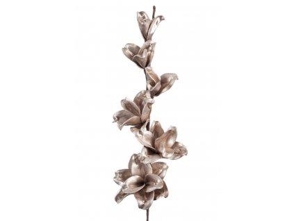 Dekorační květina FLORE 171 měděná