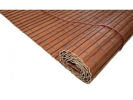 Bambusová roleta 120x100 HNĚDÁ  MAHAGON