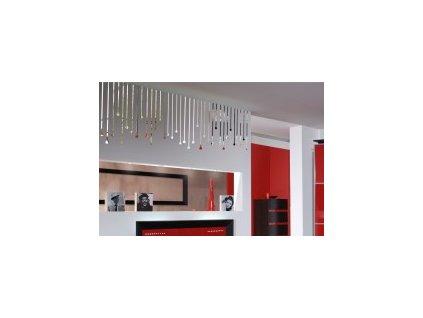 Samolepící dekorace zrcadlová  85x50 cm