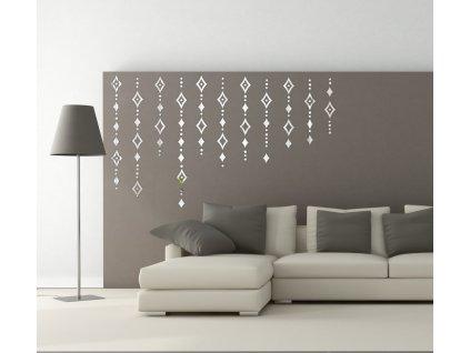 zrcadlová samolepící dekorace SHINE 1