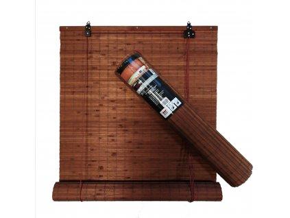 Bambusová roleta hnědá