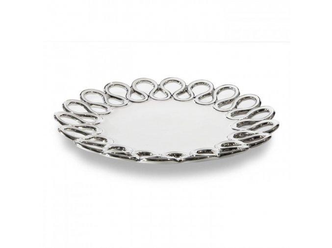 Dekorativní keramický talíř ASTRA 28 cm
