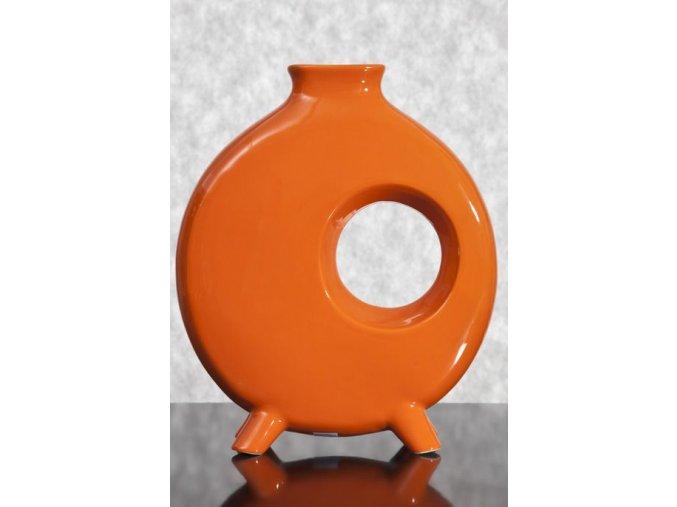 Keramická váza TANGO 11 Oranžová