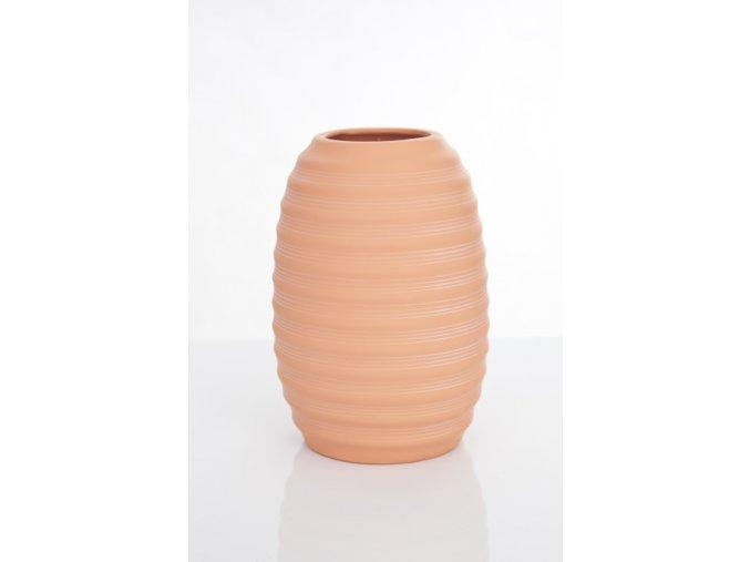 Váza PRIME oranžová 30 cm
