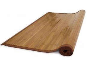 Bambusová rohož 80x200 HNĚDÁ