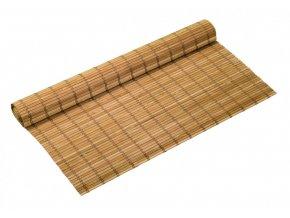 Bambusová rohož na stěnu 120x300 HNĚDÁ