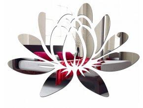 Zrcadlová samolepící dekorace LEKNÍN 50x35 cm