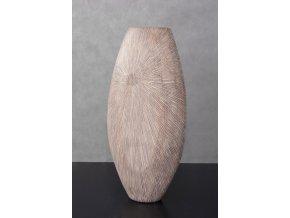 Polyresinová váza NATURE 45 cm