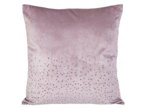 Dekorativní povlak na polštář Kasandra 3 růžová 45x45 cm