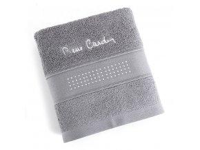Osuška Pierre Cardin - EVA šedá 70x140