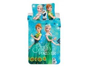 Jerry Fabrics Povlečení Frozen sister forever 140x200, 70x90