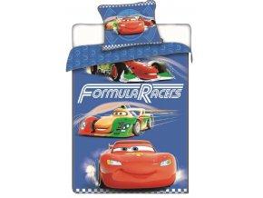 Jerry Fabrics Povlečení Cars racers  140x200, 70x90