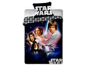 Jerry Fabrics Povlečení bavlna Star Wars 01  140x200, 70x90