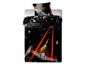 Jerry Fabrics Povlečení bavlna Star Wars spaceships  140x200, 70x90