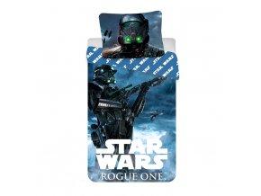 Jerry Fabrics Povlečení bavlna Star Wars Rogue One  140x200, 70x90