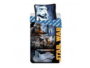 Jerry Fabrics Povlečení bavlna Star Wars Stormtroopers  140x200, 70x90