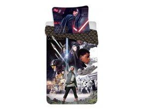 Jerry Fabrics Povlečení bavlna Star Wars VIII  140x200, 70x90
