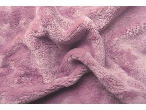 Svitap Prostěradlo mikroflanel fialová 180x200 cm