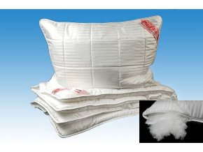 DADKA Souprava Luxus Comfort bílá 135x200, 70x90 cm