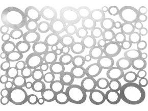 Stříbrné prostírání NEGRA obdélník 30x45cm