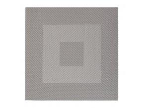 Plastové prostírání HUBERT šedé 35x35cm