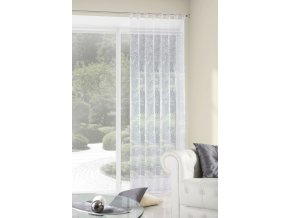 Dekorační záclona FIORE bílá 140x250cm