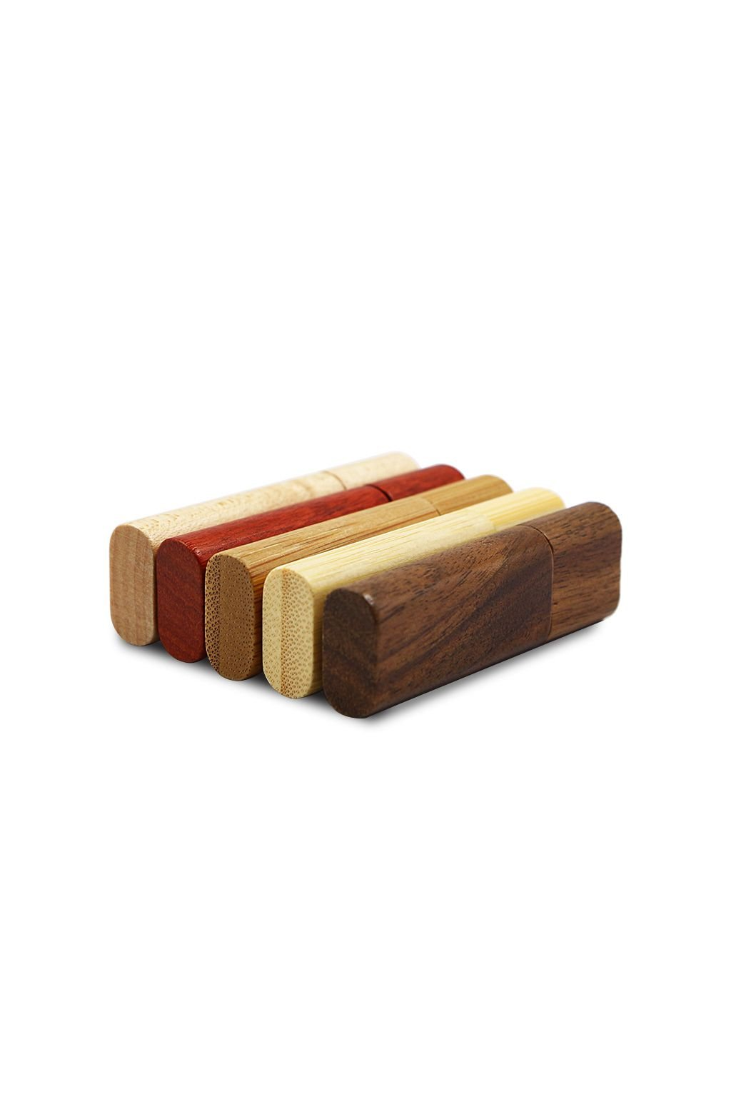 Customized Logo Creative Original Wooden Usb With