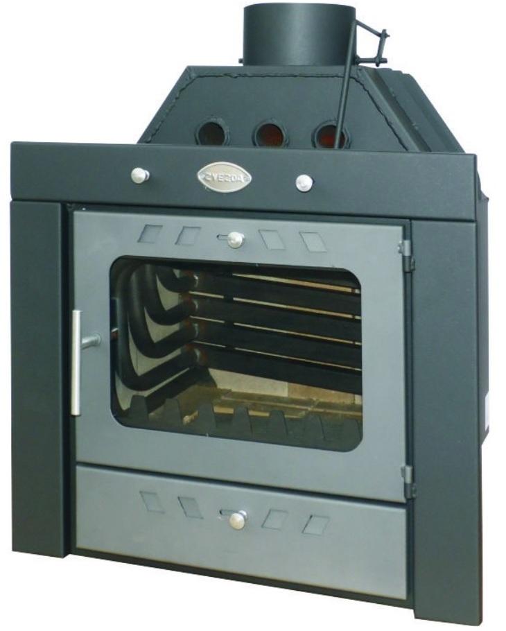 Krbová vložka s teplovodním výměníkem ZVEZDA Camera B10 VR 16