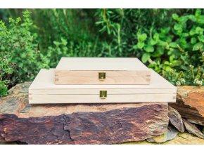 Malý a velký dřevěný zakladač na homeopatika