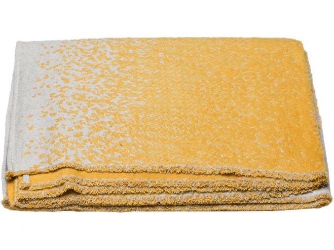 Bavlněná deka DECO žlutá