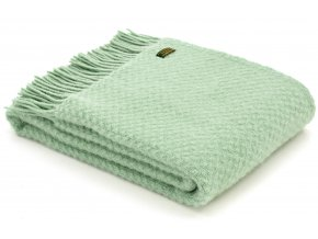 Throw Wafer Laurel Green rev
