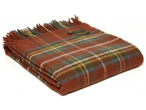 Throw Tartan Antique Royal Stewart rev