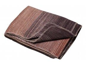Bavlněná deka SAVONA Terakotová