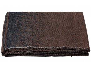 Bavlněná deka DECO hnědá