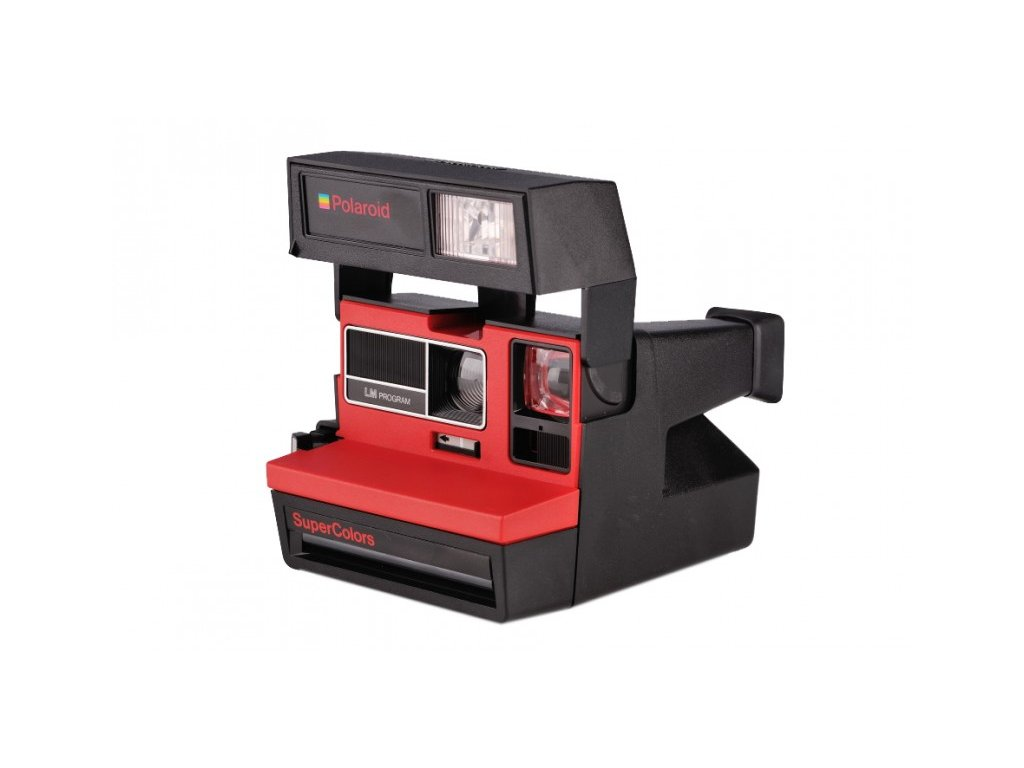 Polaroid 600 SuperColors LM Program Red