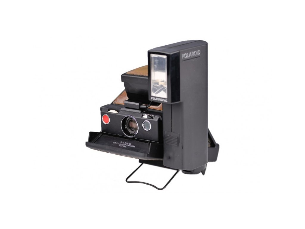 Polaroid SX-70 Land Camera Alpha (START PACK)