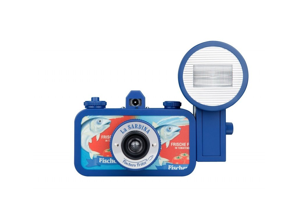La Sardina Camera and Flash Fischers Fritze