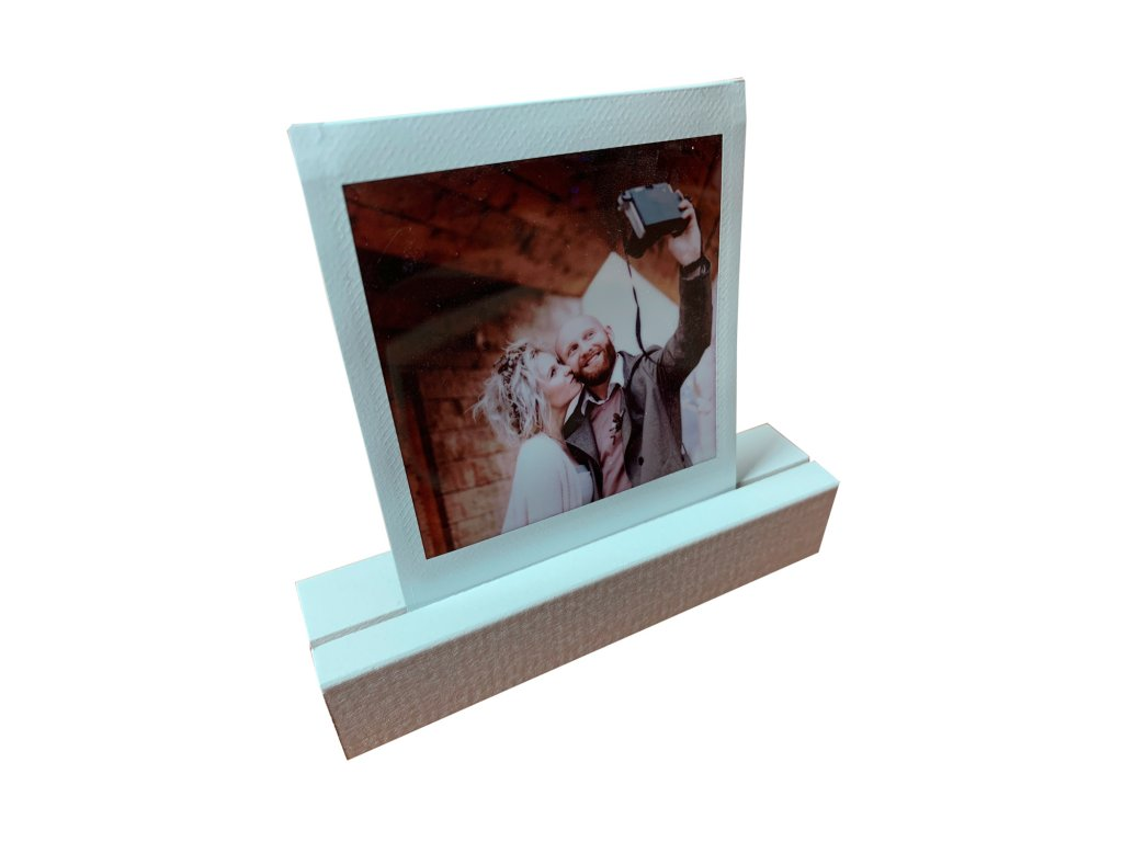 Focus Picture Stand White