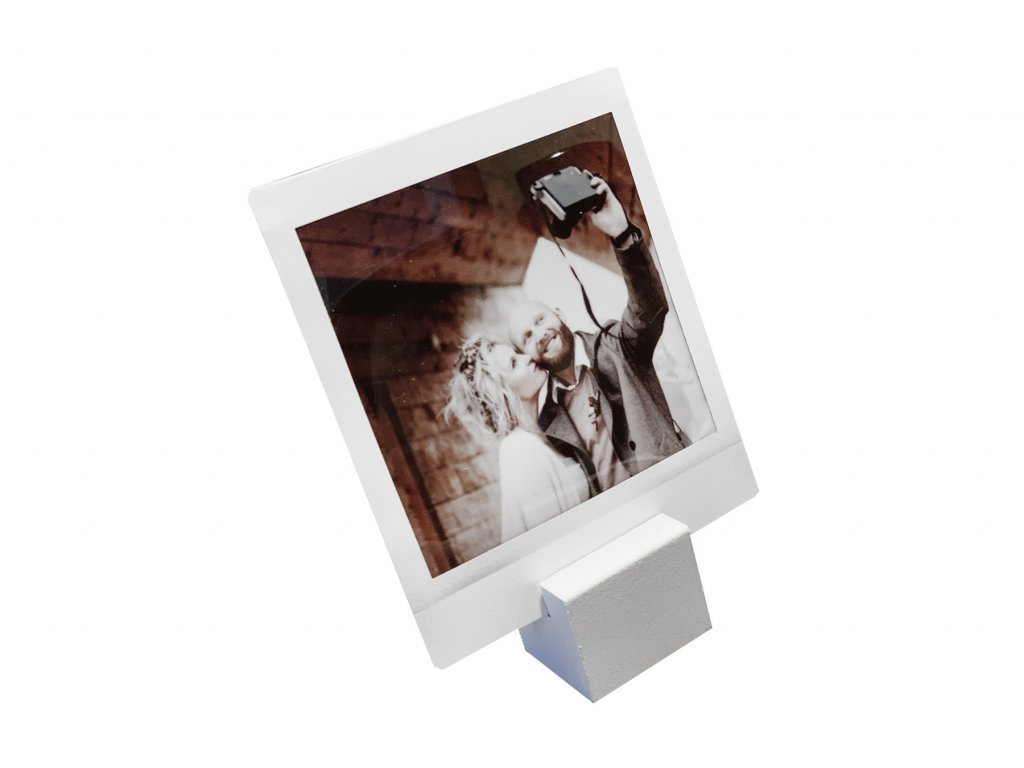 2210 6 focus picture stand small white